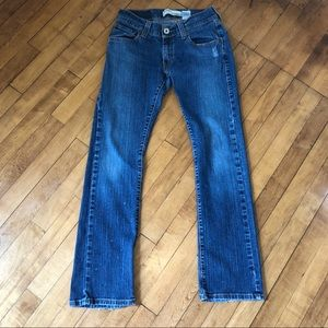 Levi's 504 Slouch Straight Jeans Size 7 M